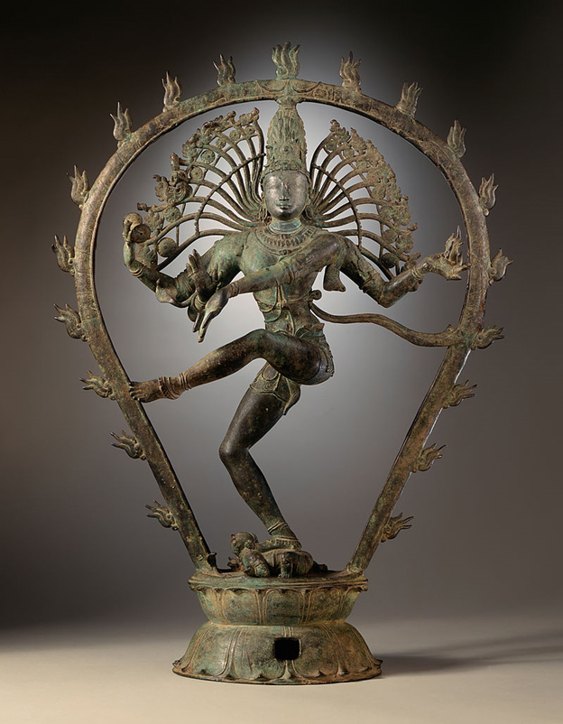 Chola dynasty statue depicting Shiva as Lord of the Dance.