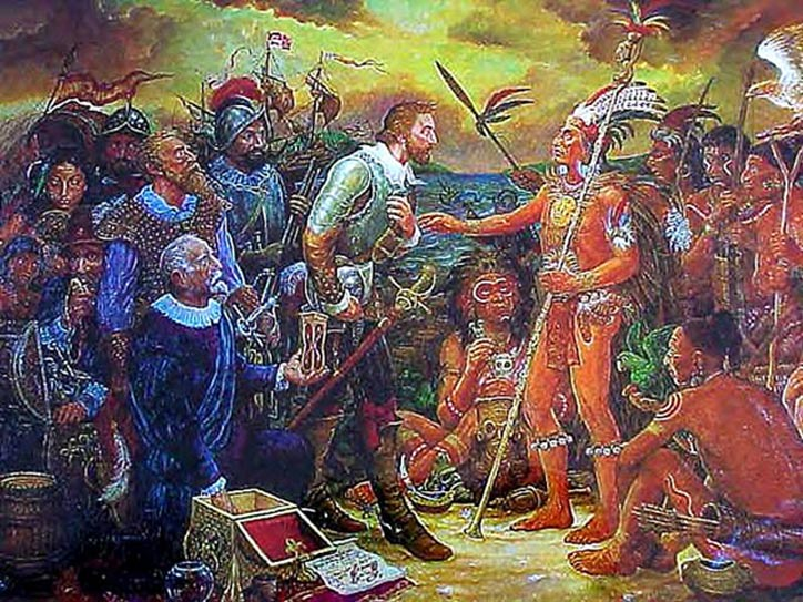 Juan Ponce de León and Native Americans