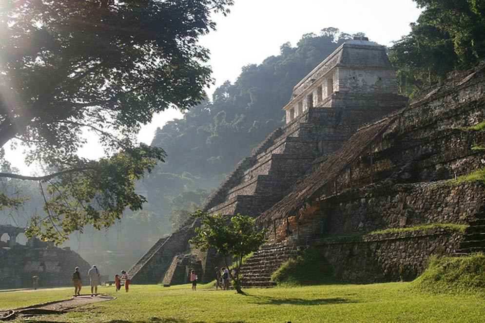 Lakam Ha, or Palenque, beautiful ancient Maya site.