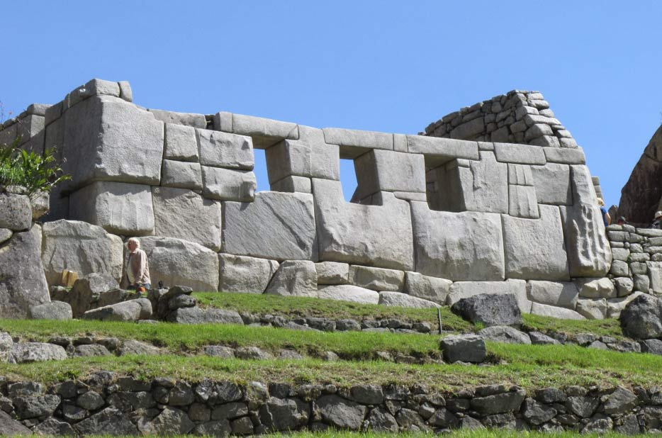 Niches at Machu Pic'chu