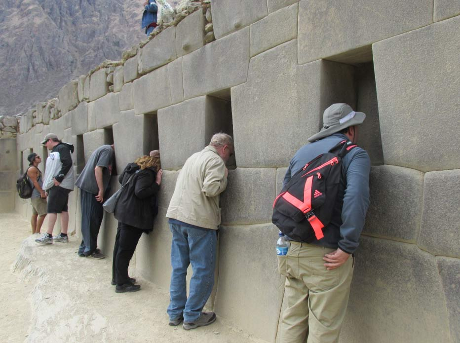 Ollantaytambo niches