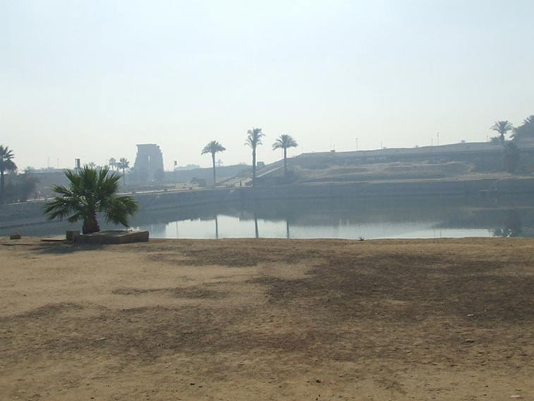 The Sacred Lake of Precinct of Amun-Ra.