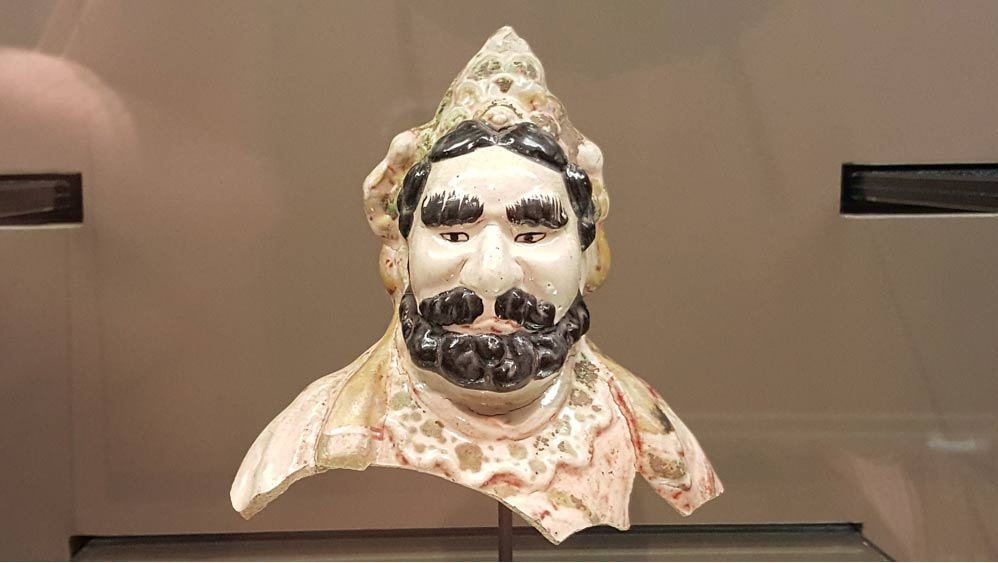 Silk road figure head, thought to be Sogdian.