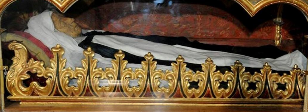 An Incorrupt body in the Monastery of St. Catherine of Siena