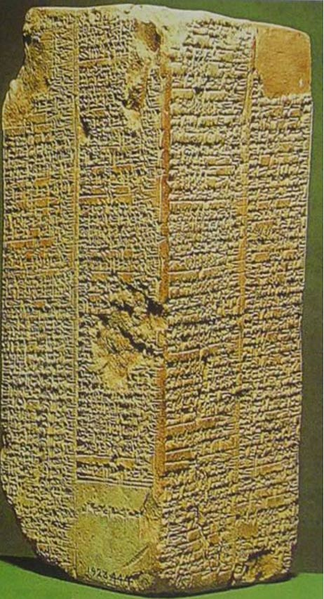The best existing Sumerian King List.