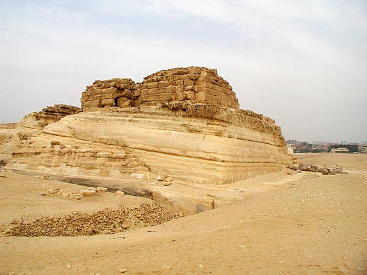 Tomb of Khentkaus I in Giza