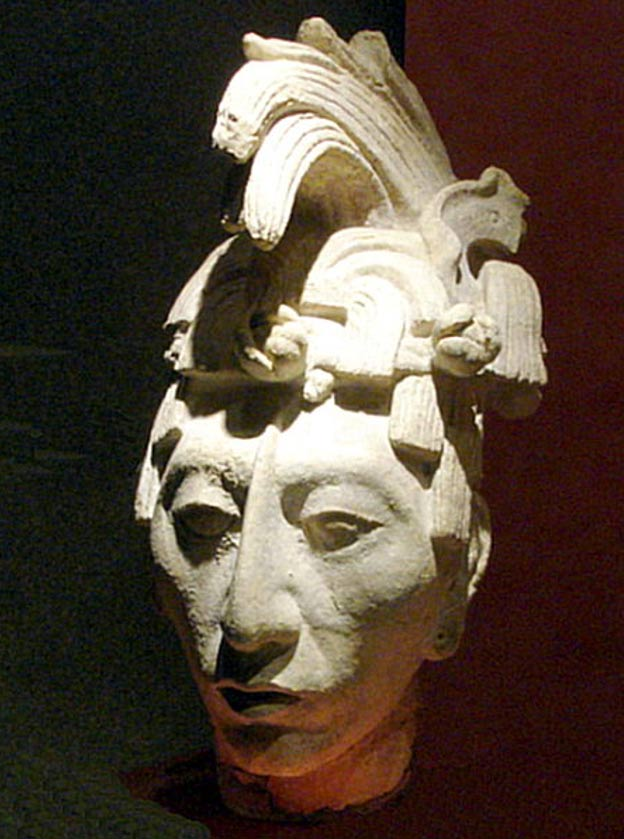 Bust depicting K'inich Janaab' Pakal